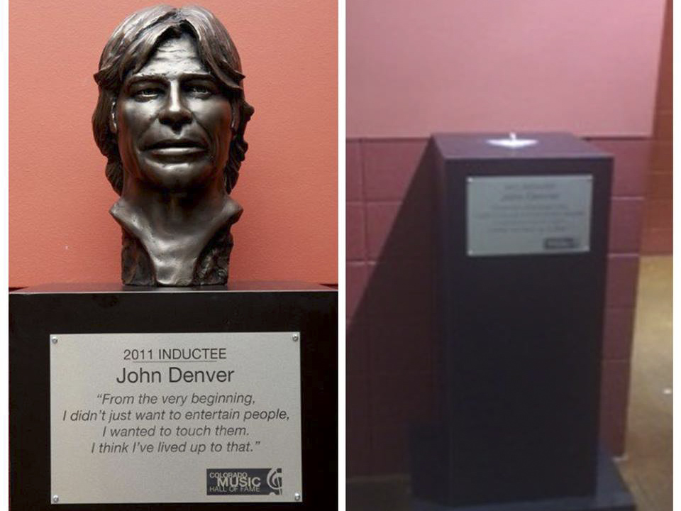 Photo: John Denver bust
