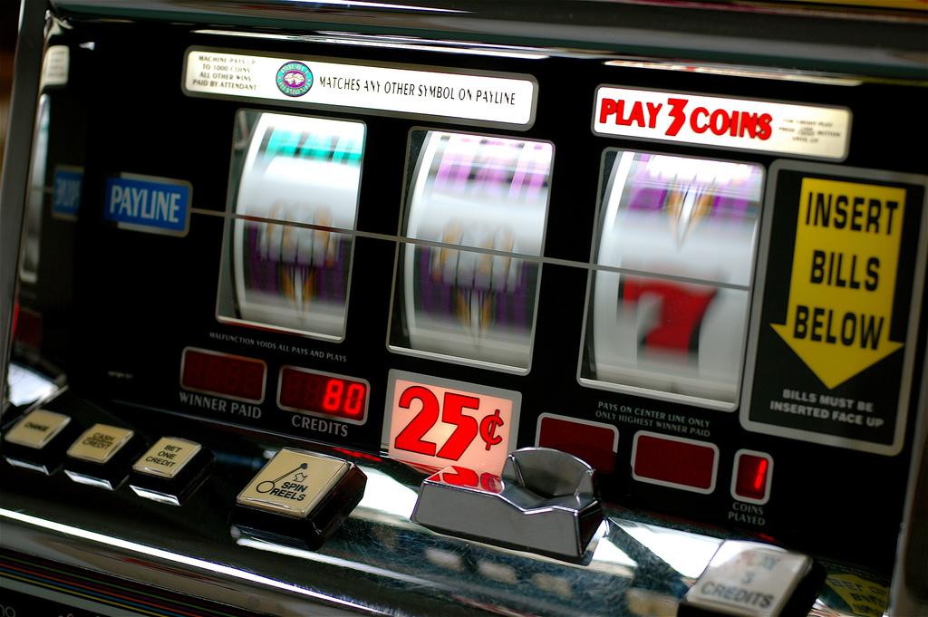 Photo: slot machine