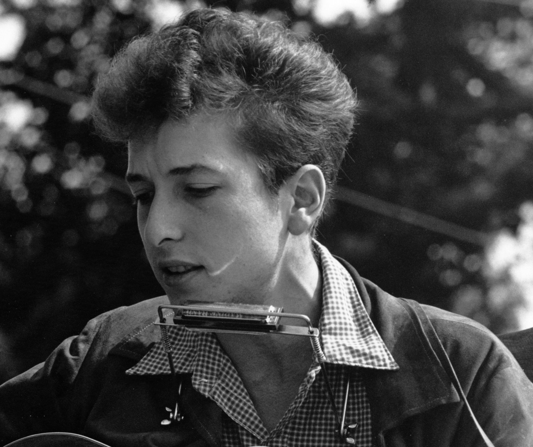 Photo: Bob Dylan in 1963