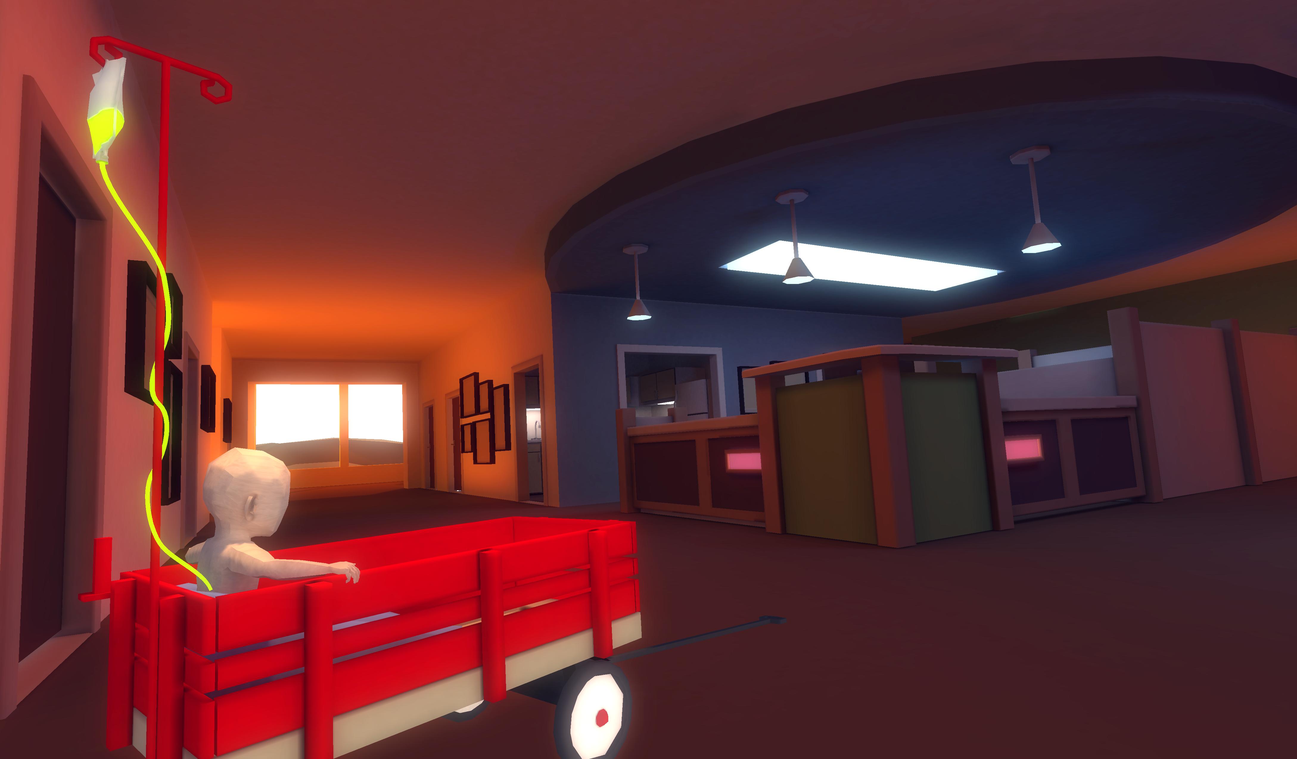 Photo: That Dragon, Cancer computer game screenshot