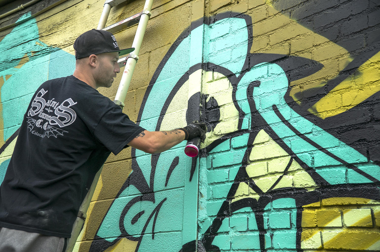 Photo: Crush Walls Urban Art RiNo Denver 2018 Jolt 2