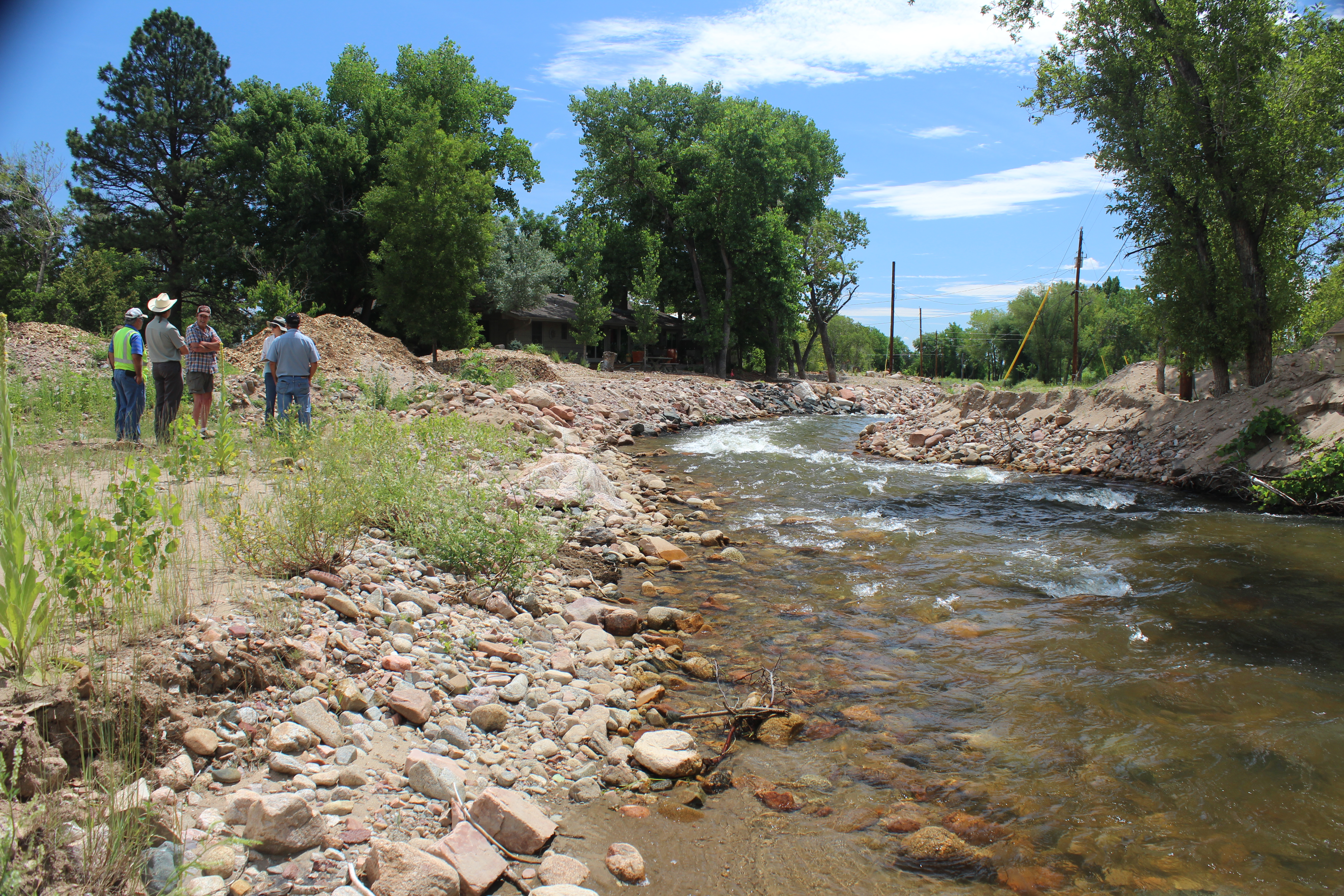 PHOTO: Left Hand Creek Flood Recovery July 2015