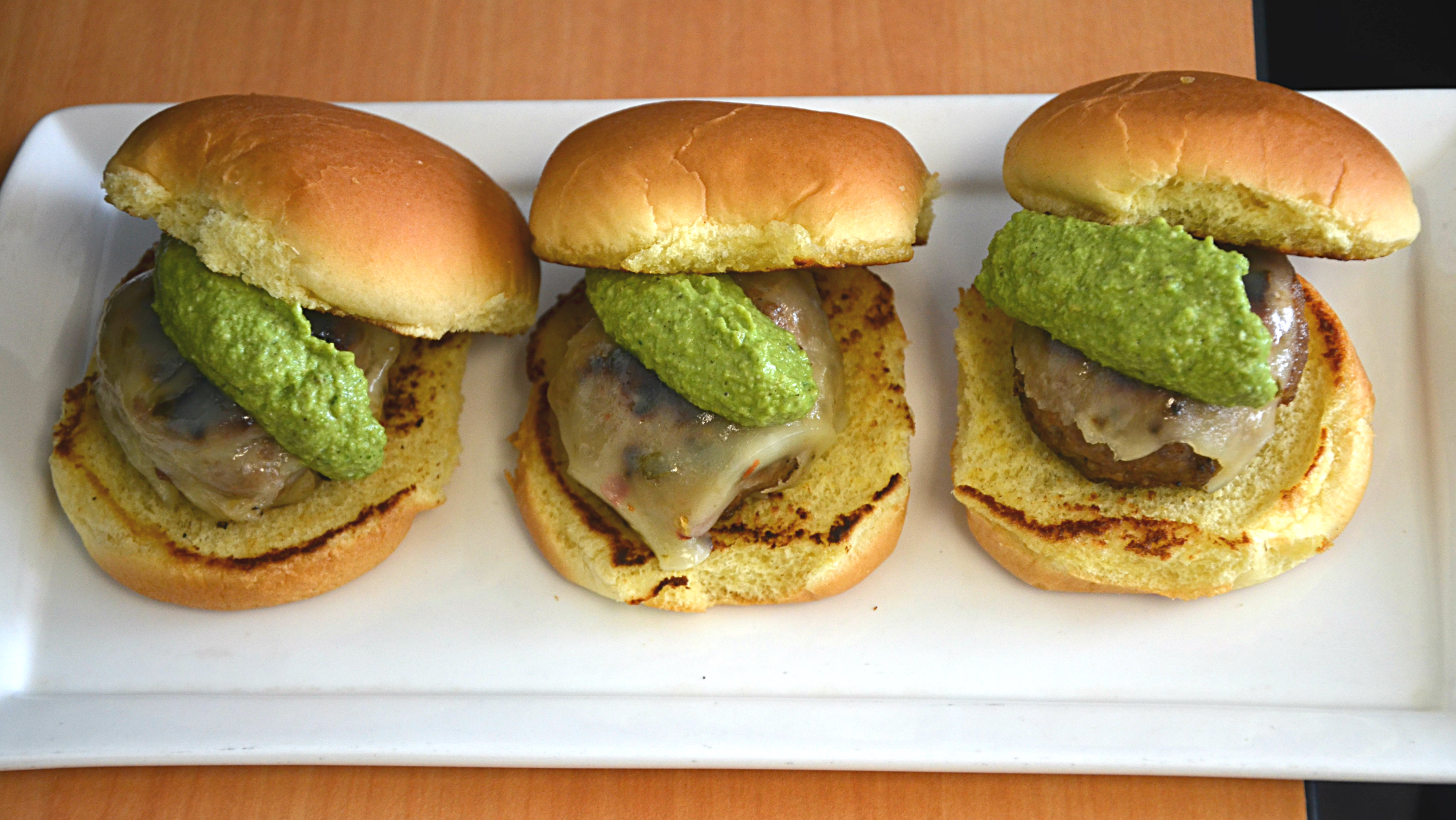 Photo: Lamb sliders for the Super Bowl