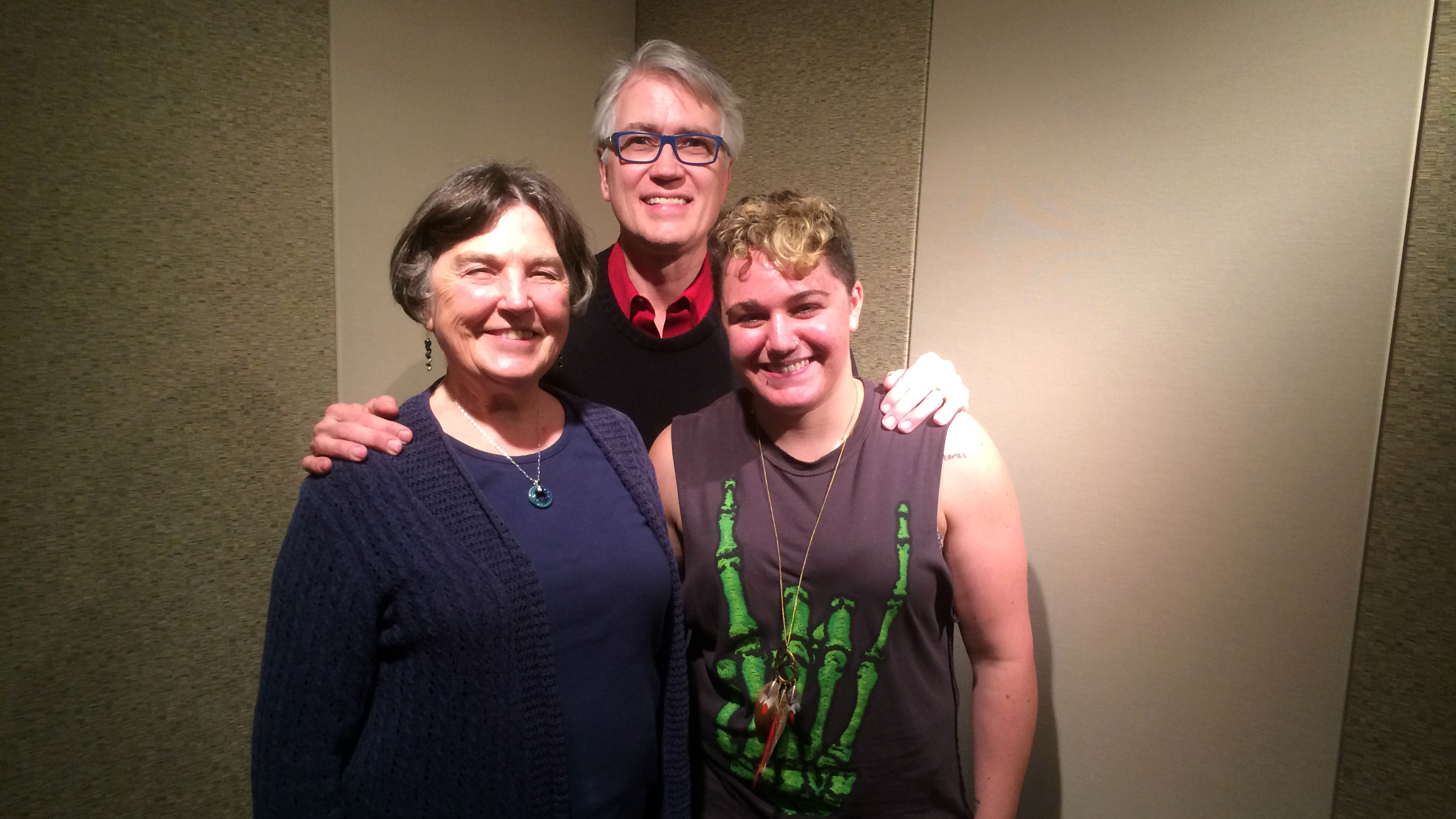 Photo: Barbara Thorngren, Kent Thompson, Rachel Miller