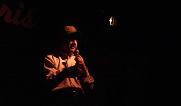 Photo: Denver poet Lenny Chernila, Rock the Mic documentary still
