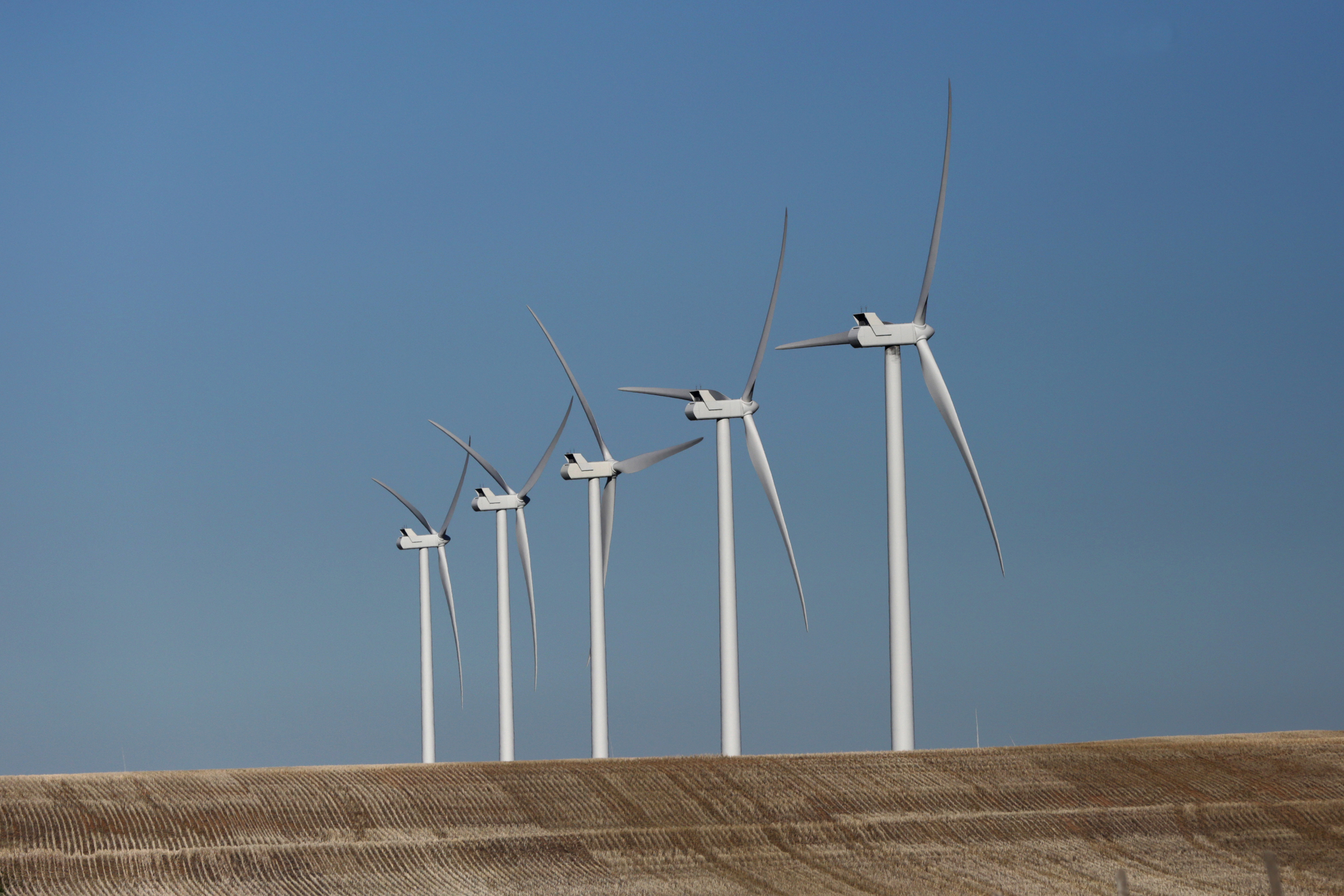 Photo: Wind turbines in Lincoln County 4