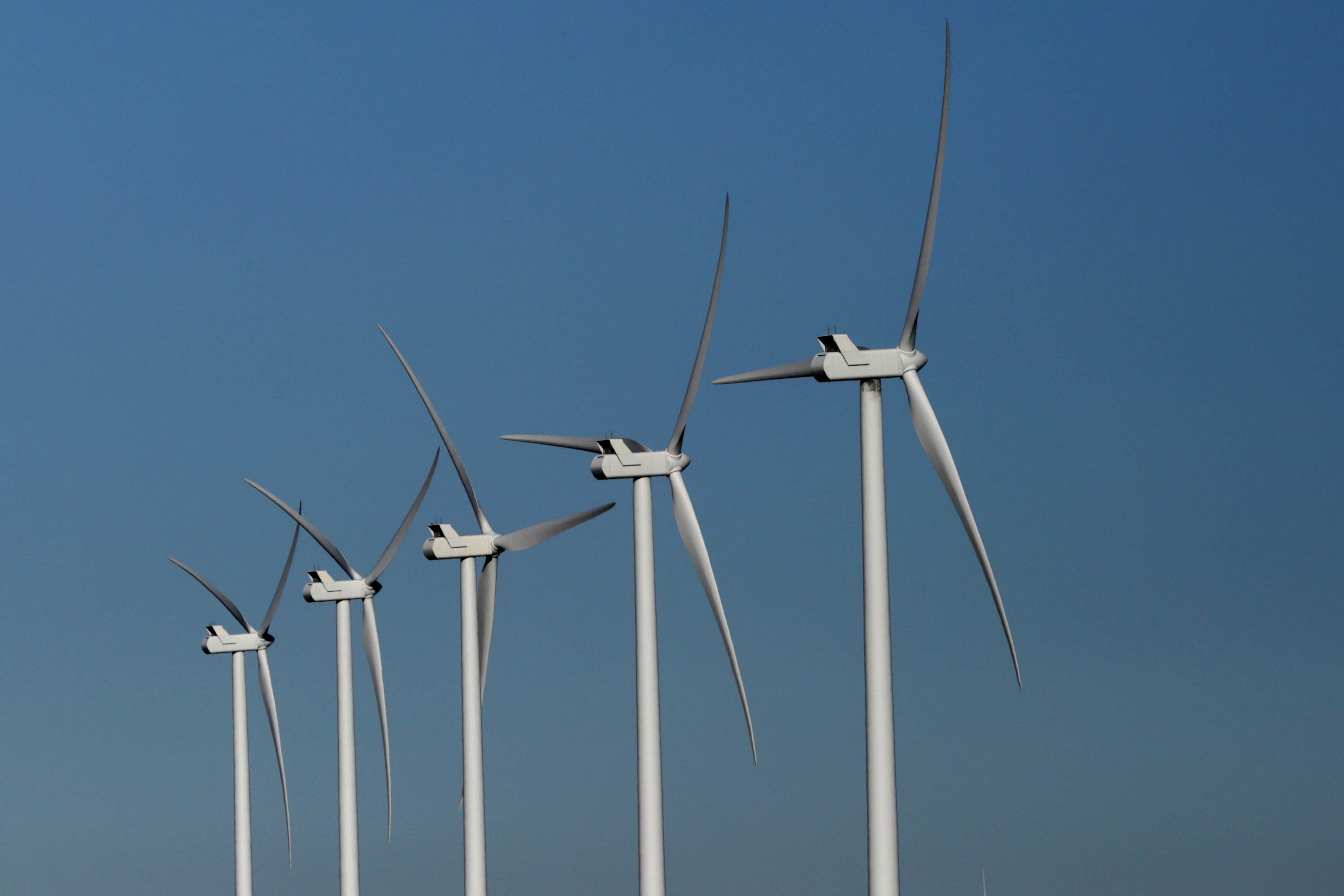 Photo: Wind turbines in Lincoln County 6
