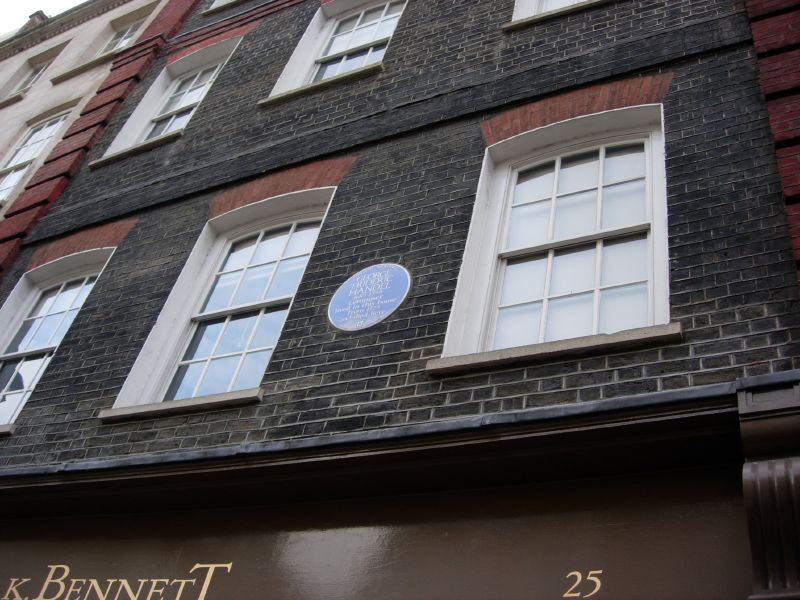 Photo: Handel House in London