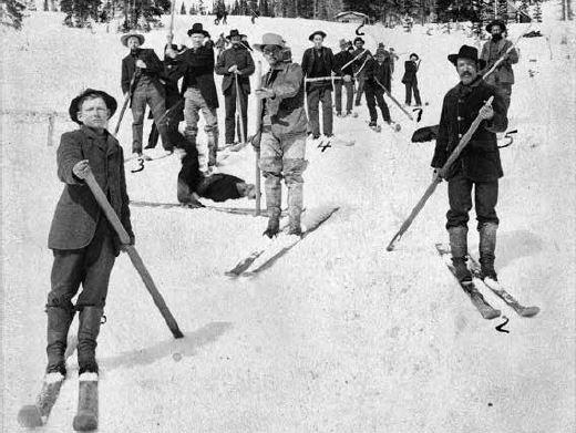 Photo: Lost ski areas book Miners at Irwin