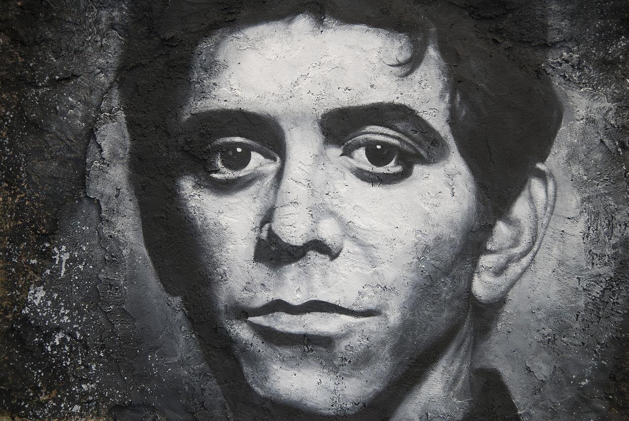 Photo: Lou Reed graffiti