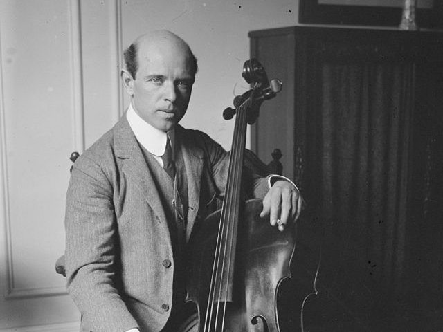 Photo: Pablo Casals, cellist
