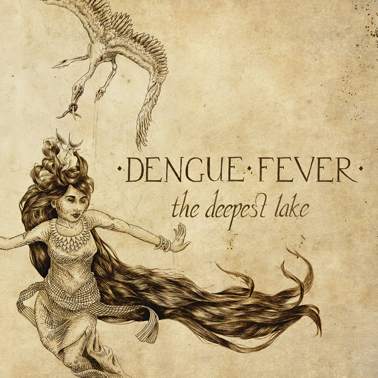 Photo: Dengue Fever 'The Deepest Lake' album cover