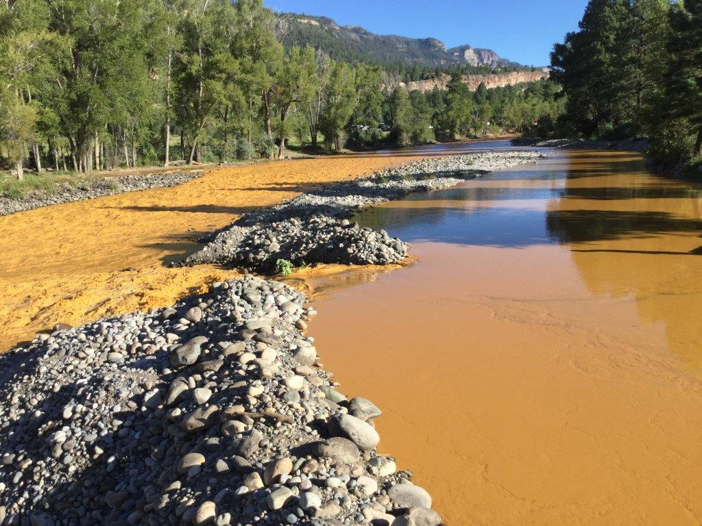 Photo: Animas River Mine Pollution (La Plata OEM)