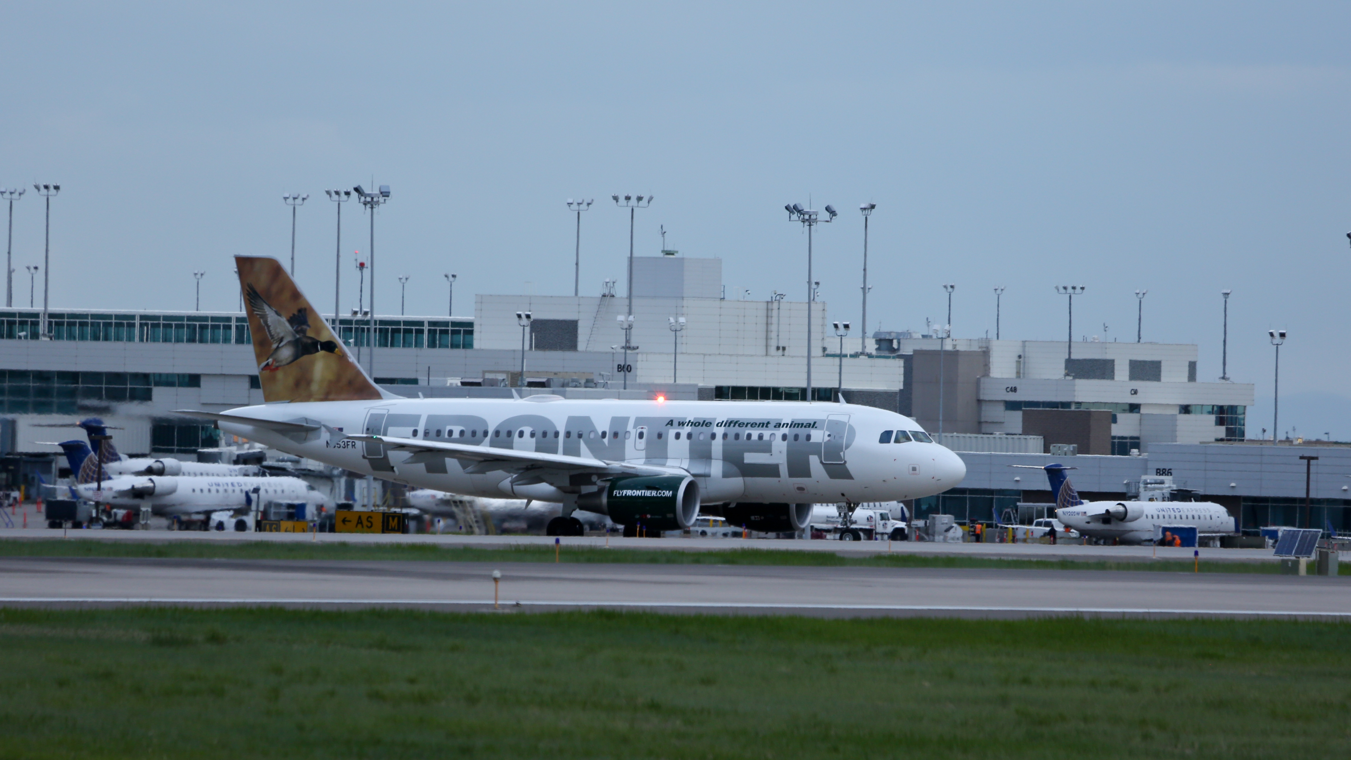 Frontier at DIA