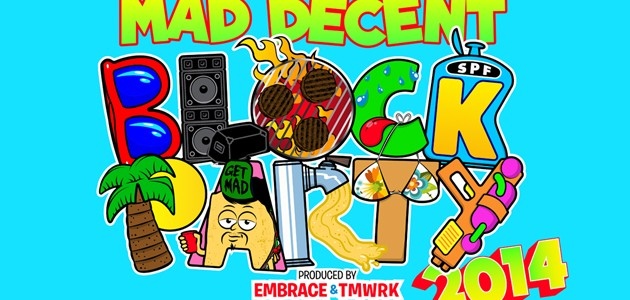 photo: Mad Decent Block Party logo