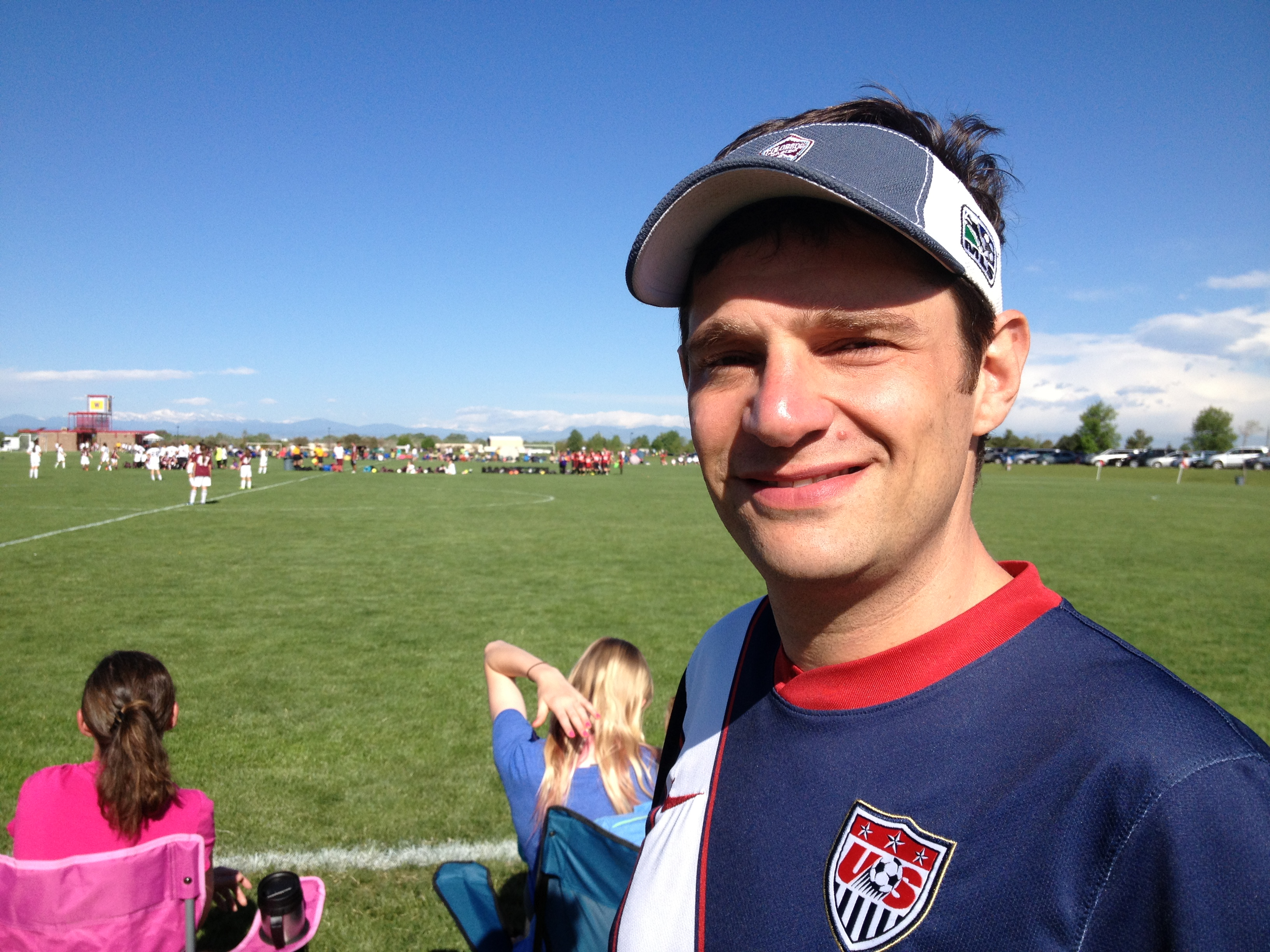 Soccer dad headed to Brazil for World Cup