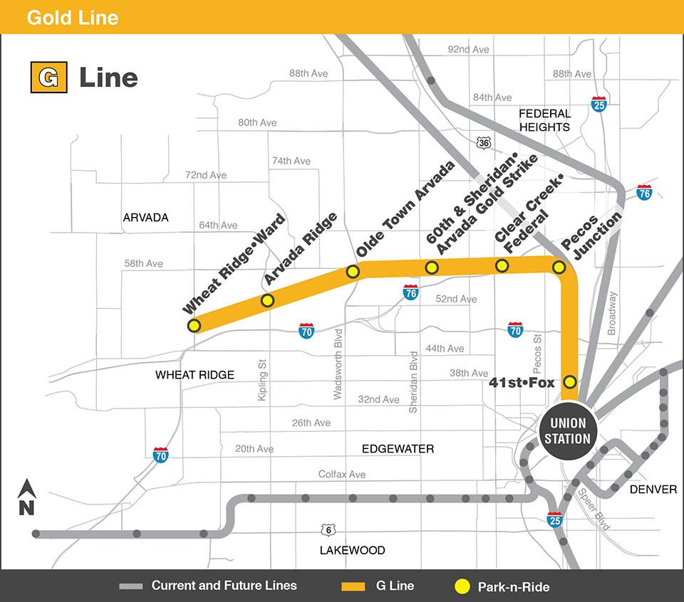 Map: G Line