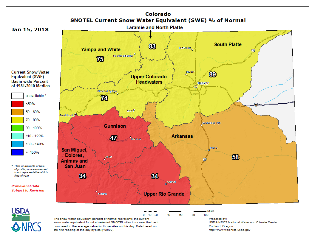 Map: mpf snow levels update snow water equivalent