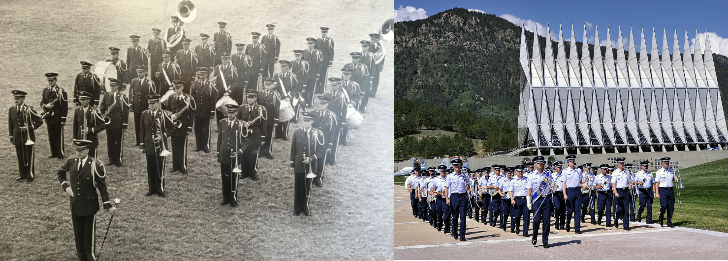 As The Air Force Turns 70, The Air Force Academy Band Marks