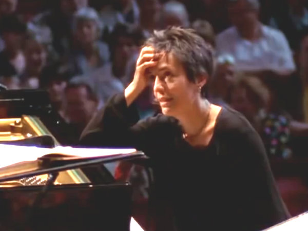 Photo: Maria Joao Pires tackles a surprise Mozart concerto