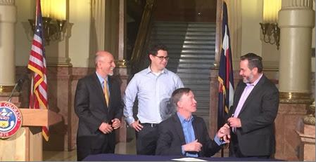 Photo: Gov. John Hickenlooper, Marijuana Revenue