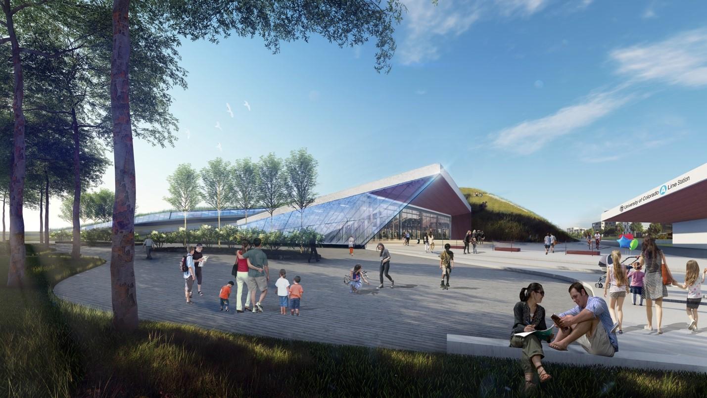 Photo: Hyperloop DIA Station