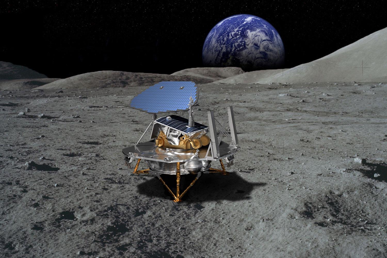 Photo: Lockheed Martin Lunar Lander NASA