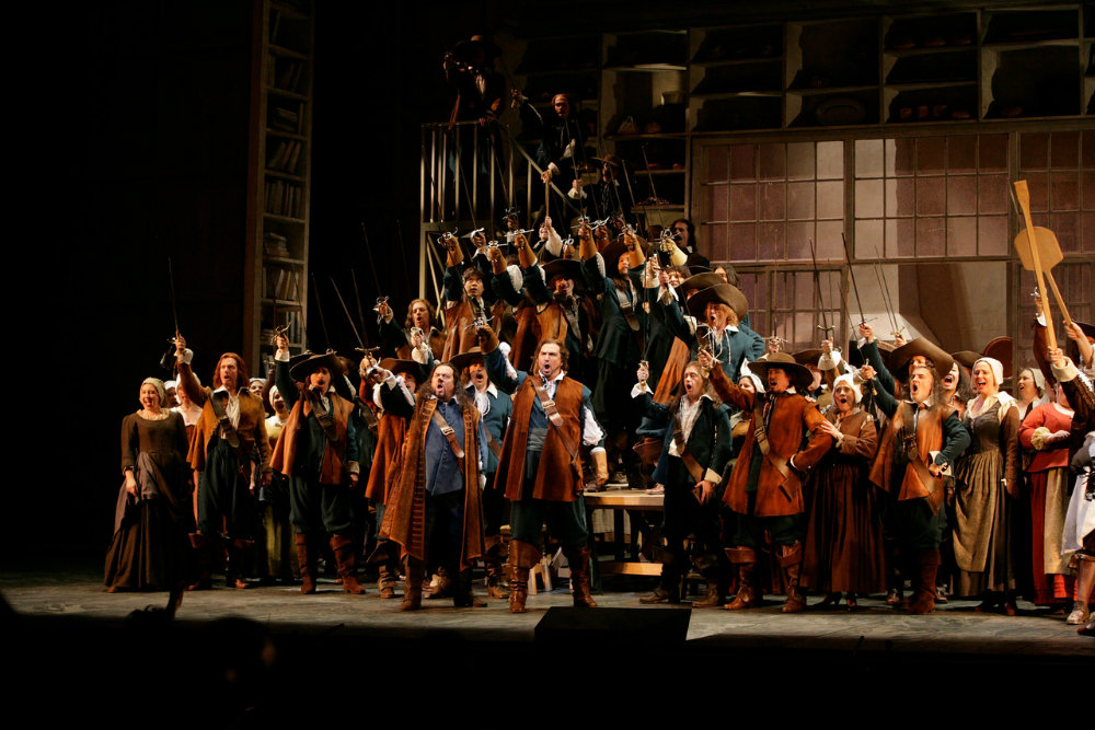 Photo: Met Opera Cyrano pic