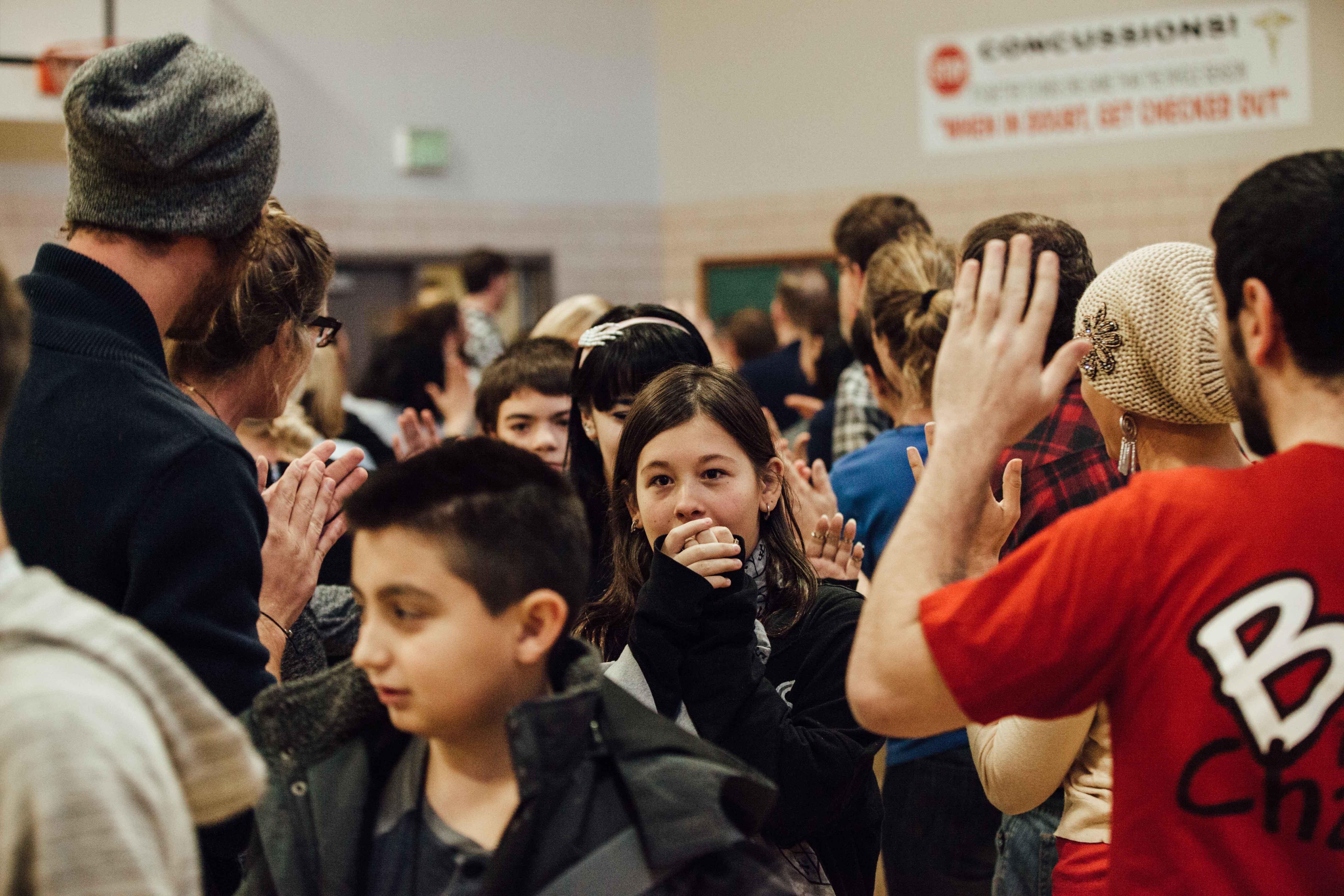 Photo: Bullying, Denver Challenge Day 3 love tunnel