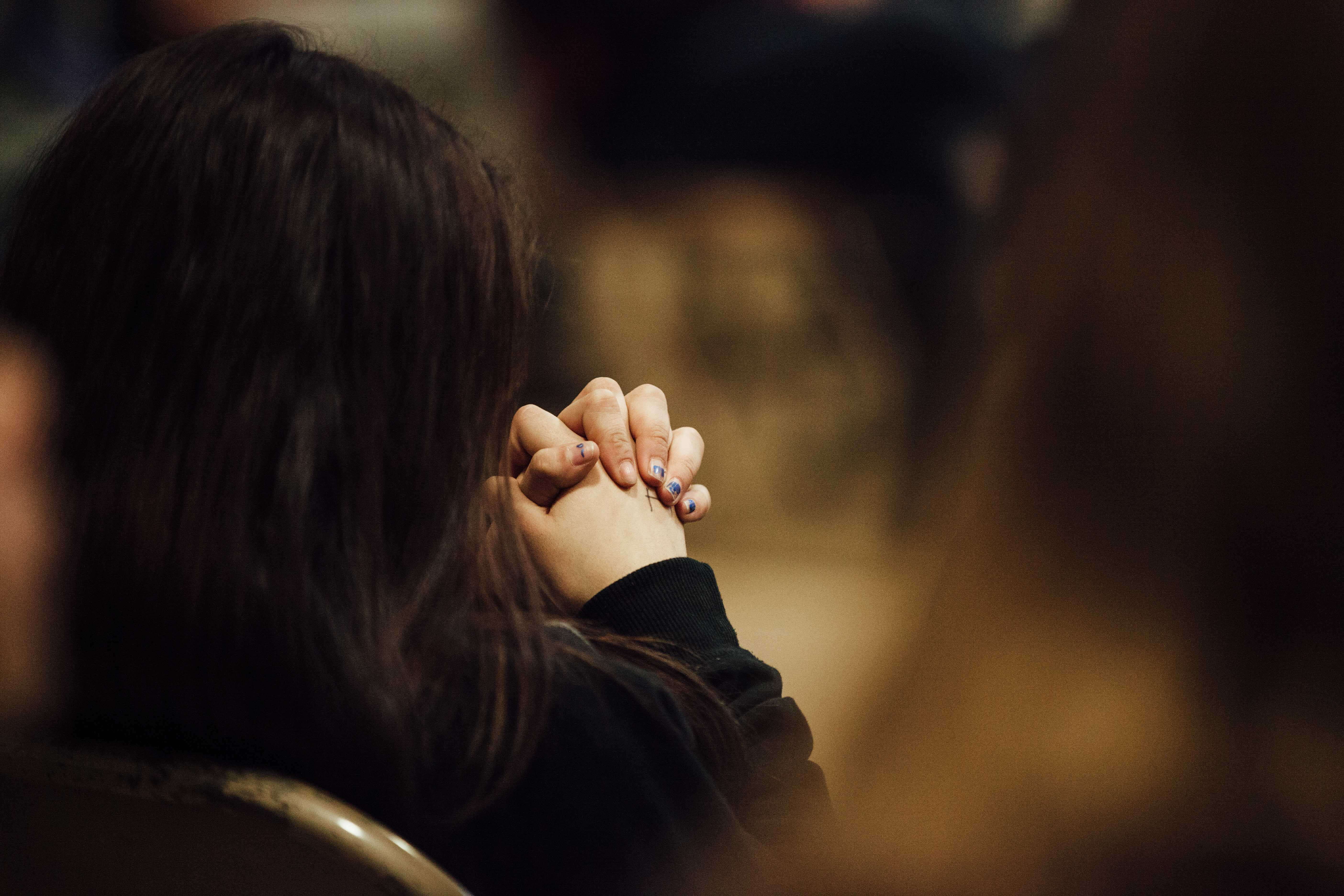 Photo: Bullying, Denver Challenge Day 2 clasped hands