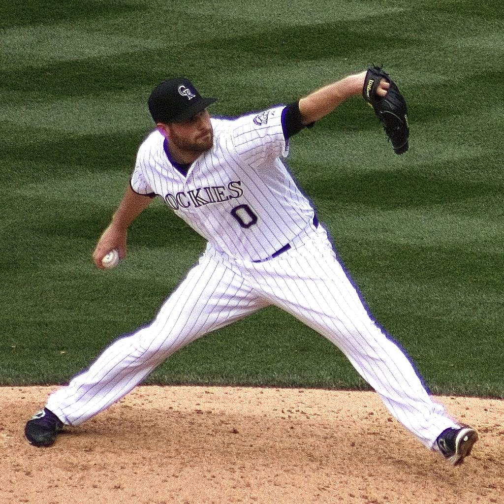 Photo: Adam Ottavino of Colorado Rockies