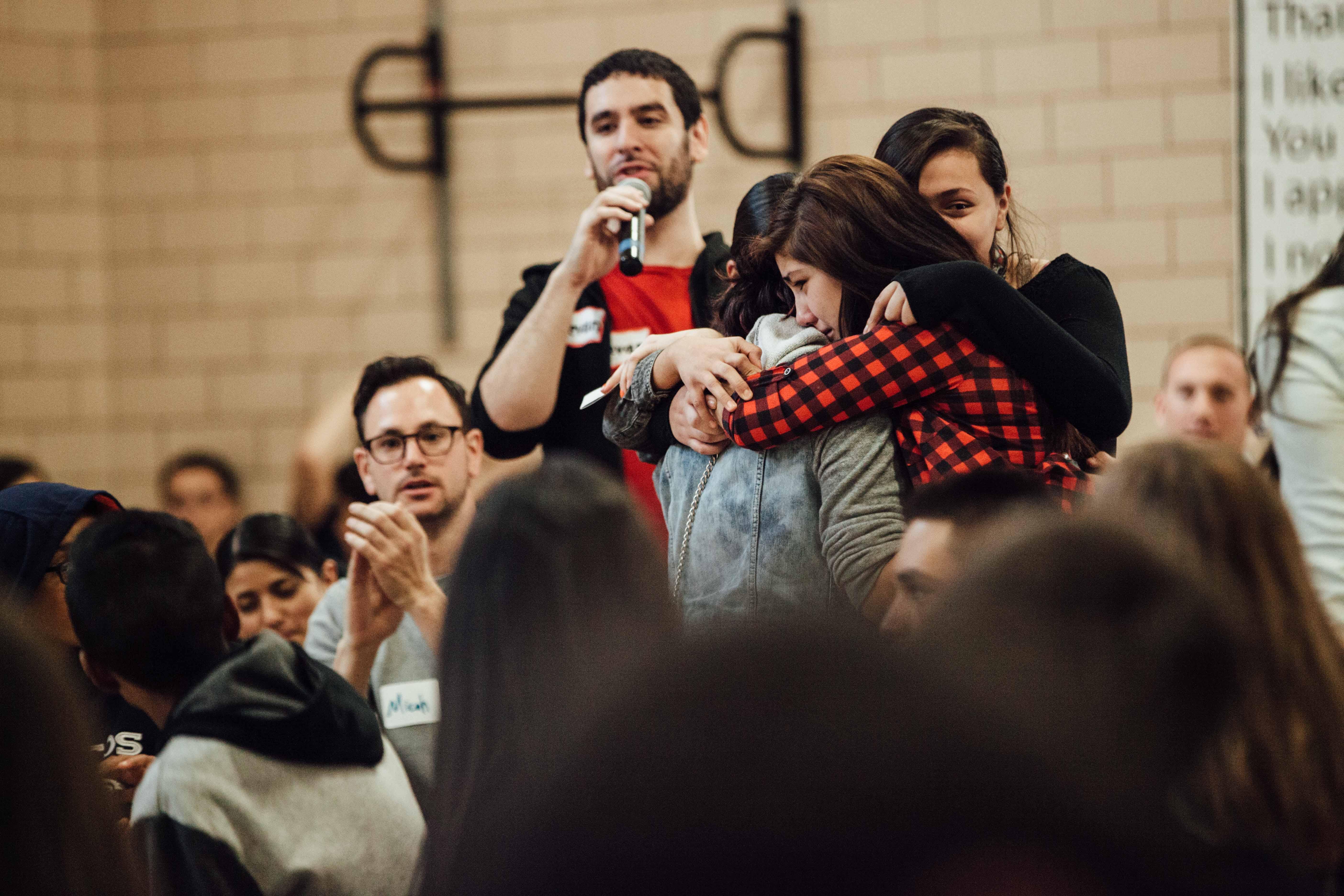 Photo: Bullying, Denver Challenge Day 12 embrace