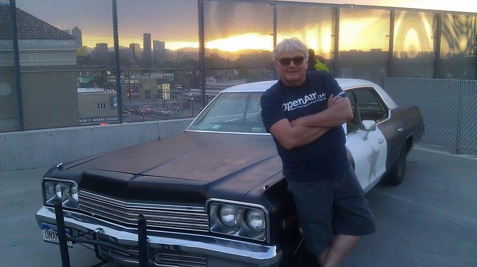 Photo: Mike Flanagan Blues Brothers car
