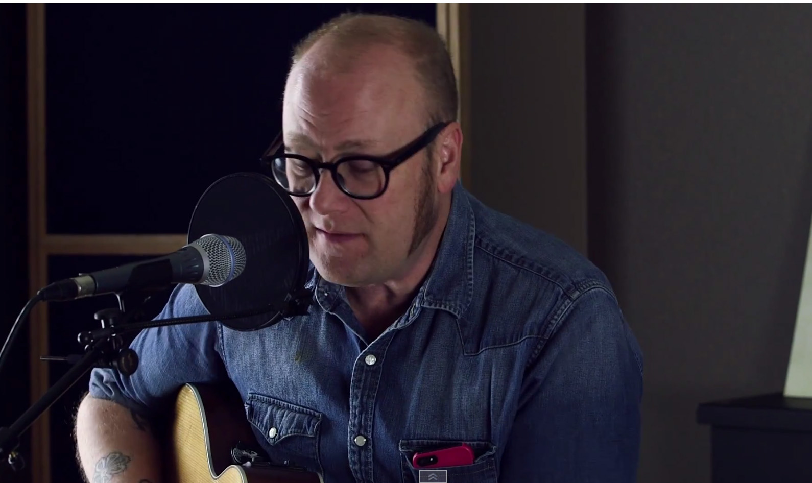 Mike Doughty Close up