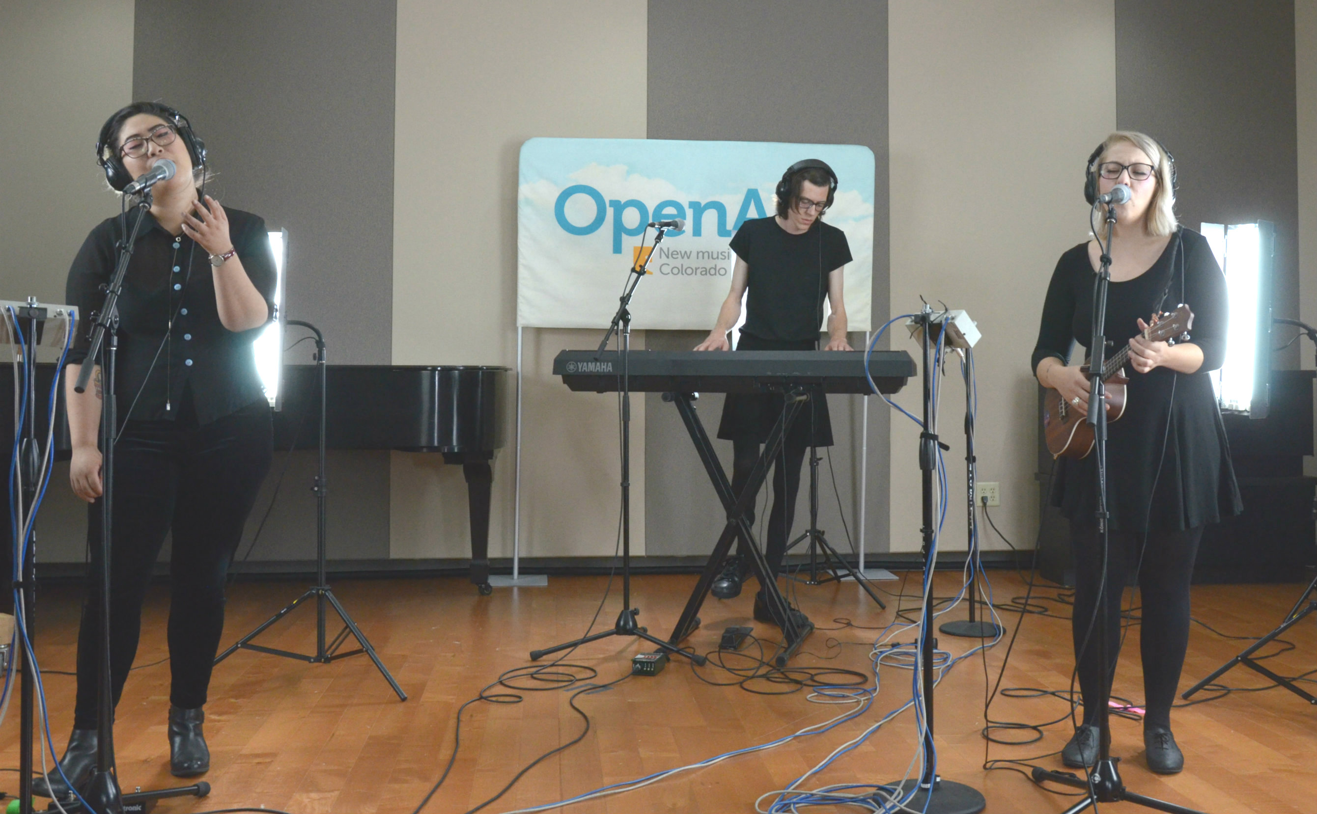 Photo: The Milk Blossoms Perform At OpenAir