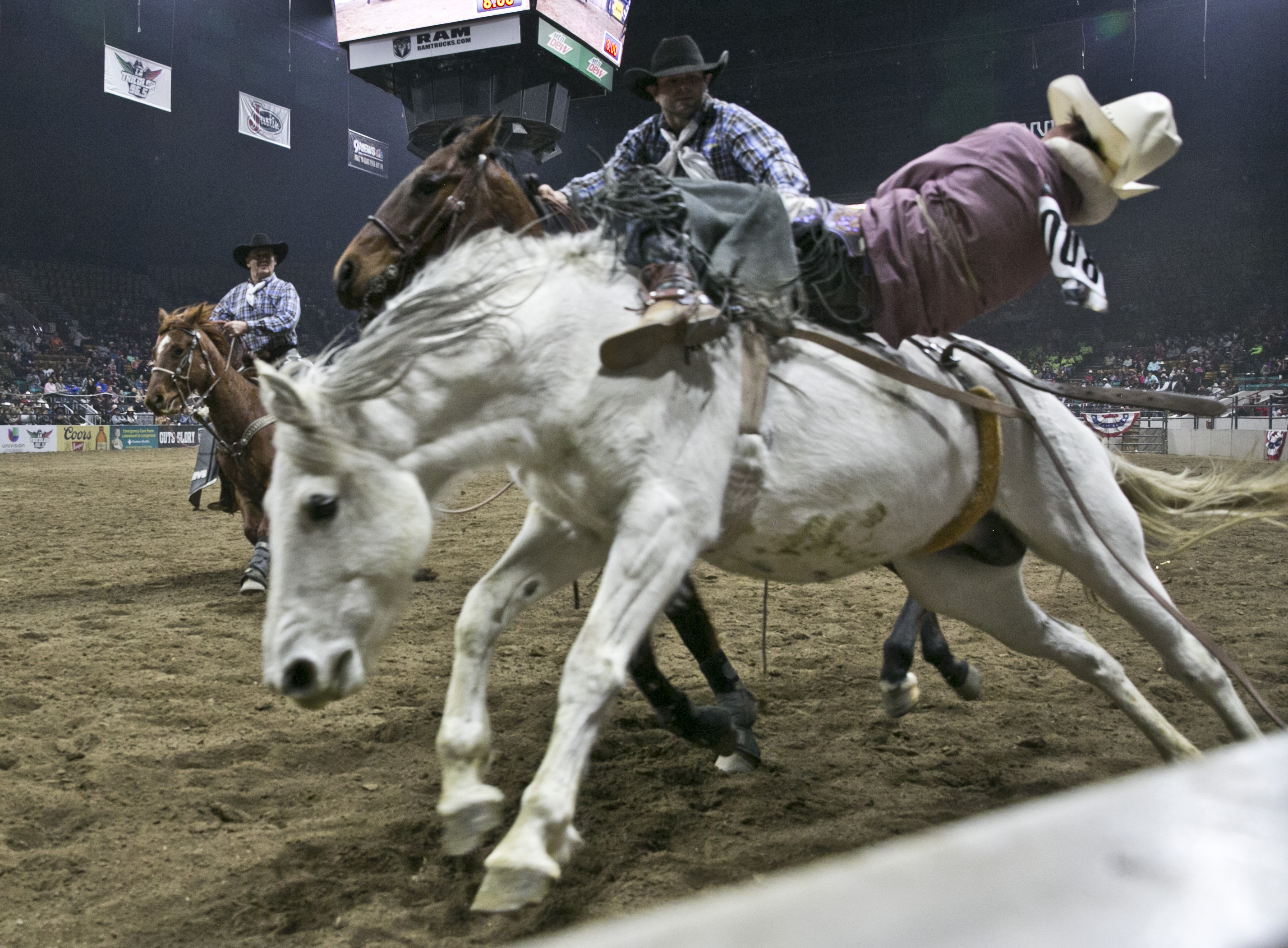 Photo: MLK Rodeo 1 | Falling off