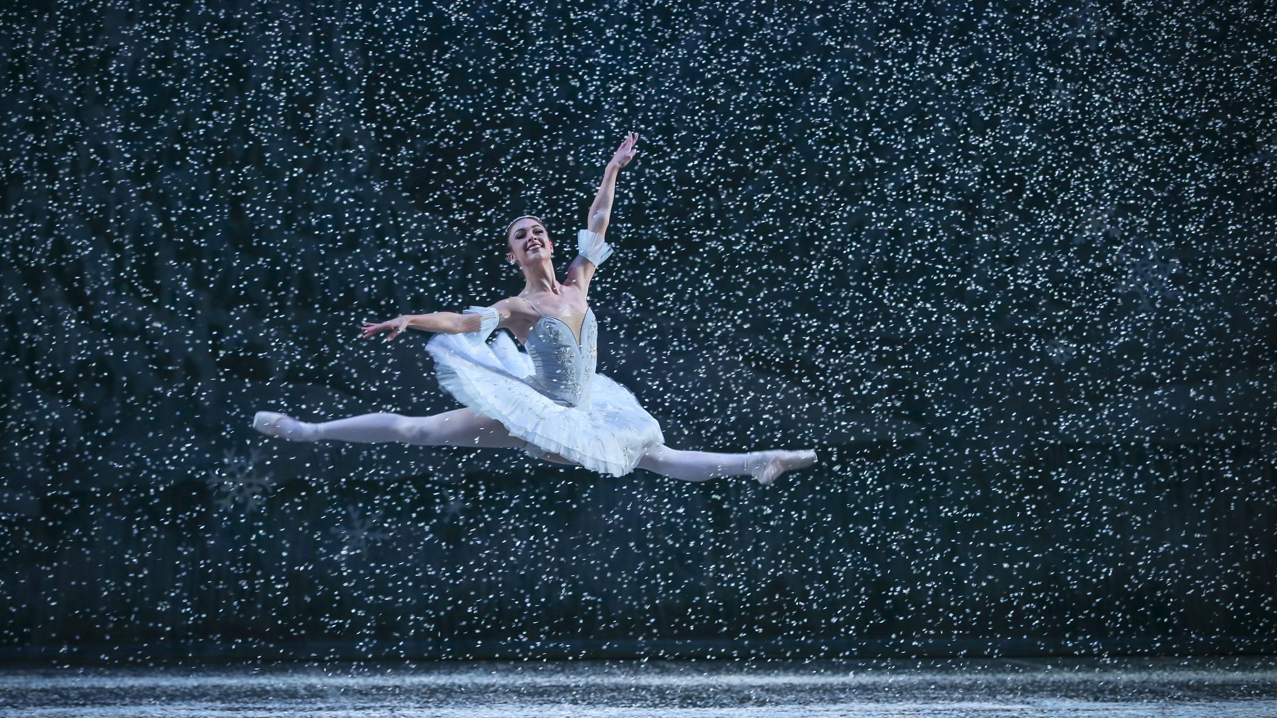 Photo: Colorado Ballet 'Nutcracker' snow scene