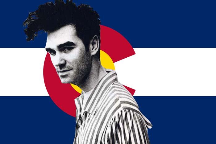 photo: Morrissey in Colorado