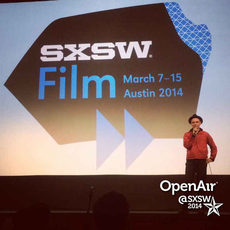 photo: Stuart Murdoch at SXSW