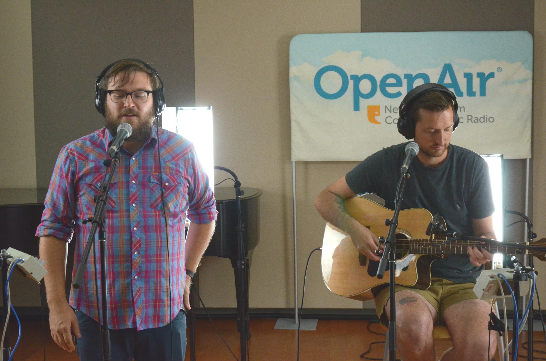 Photo: Nathan & Stephen At OpenAir