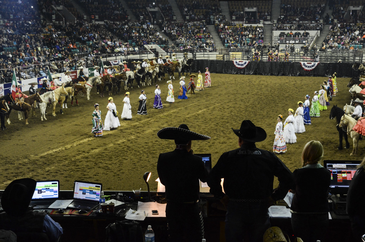Photo: Stock Show 8 Rodeo wide