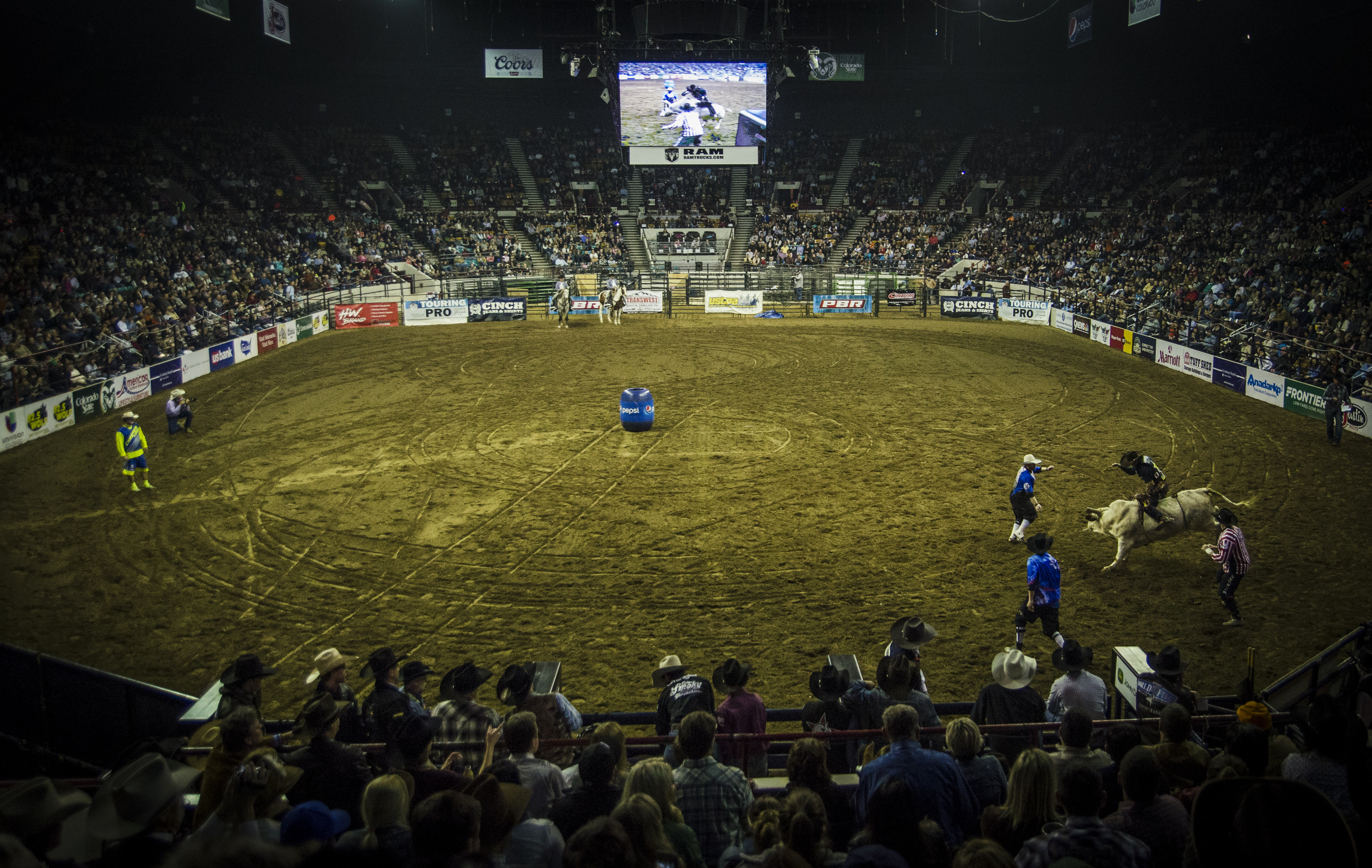 Photo: Stock Show 13 PBR finals