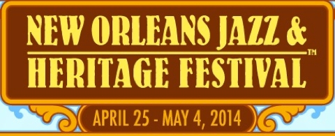 photo: New Orleans Jazz Fest logo