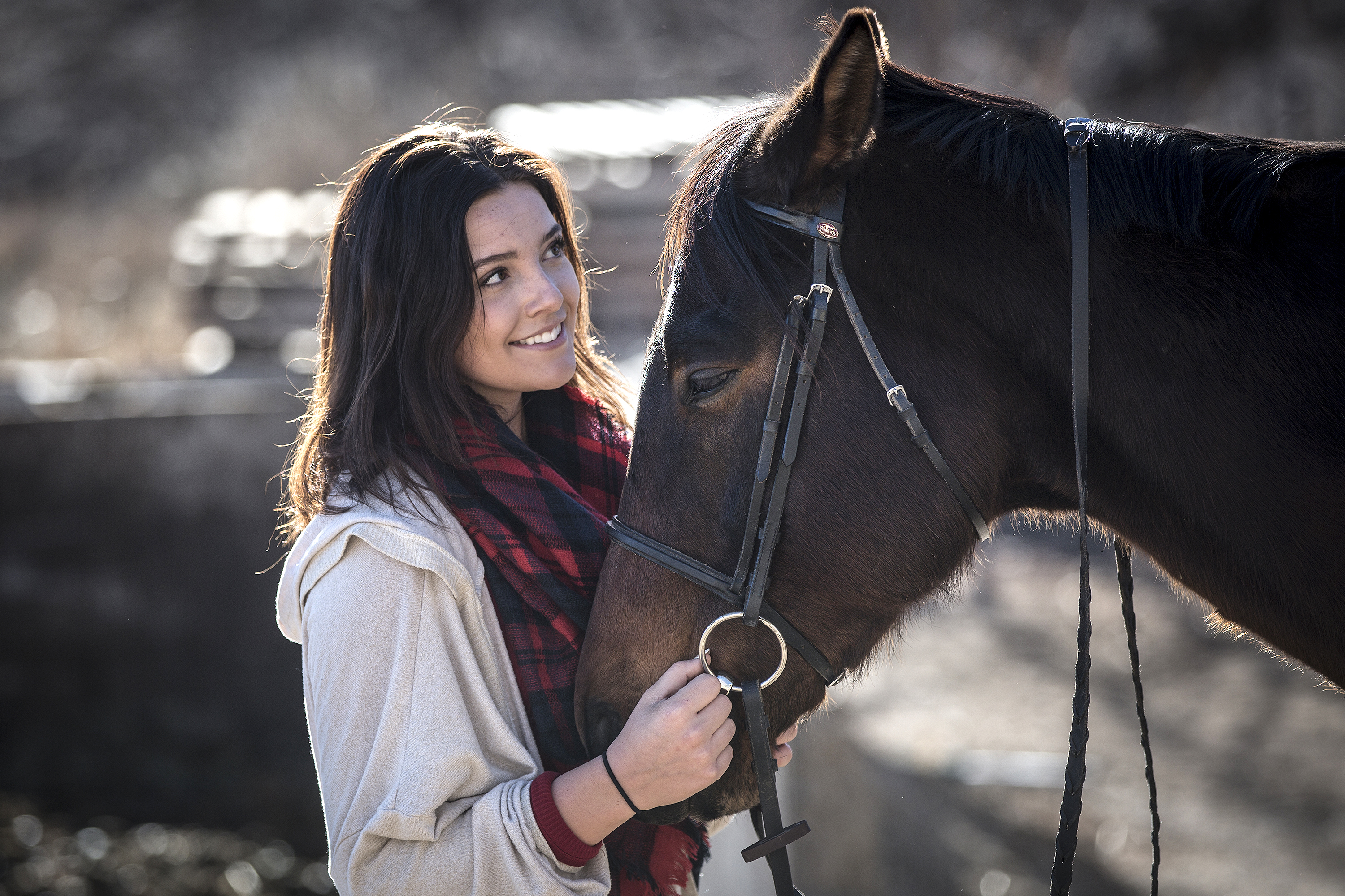 Photo: Kassidy Webber With Chance The Race Horse 3 20181214