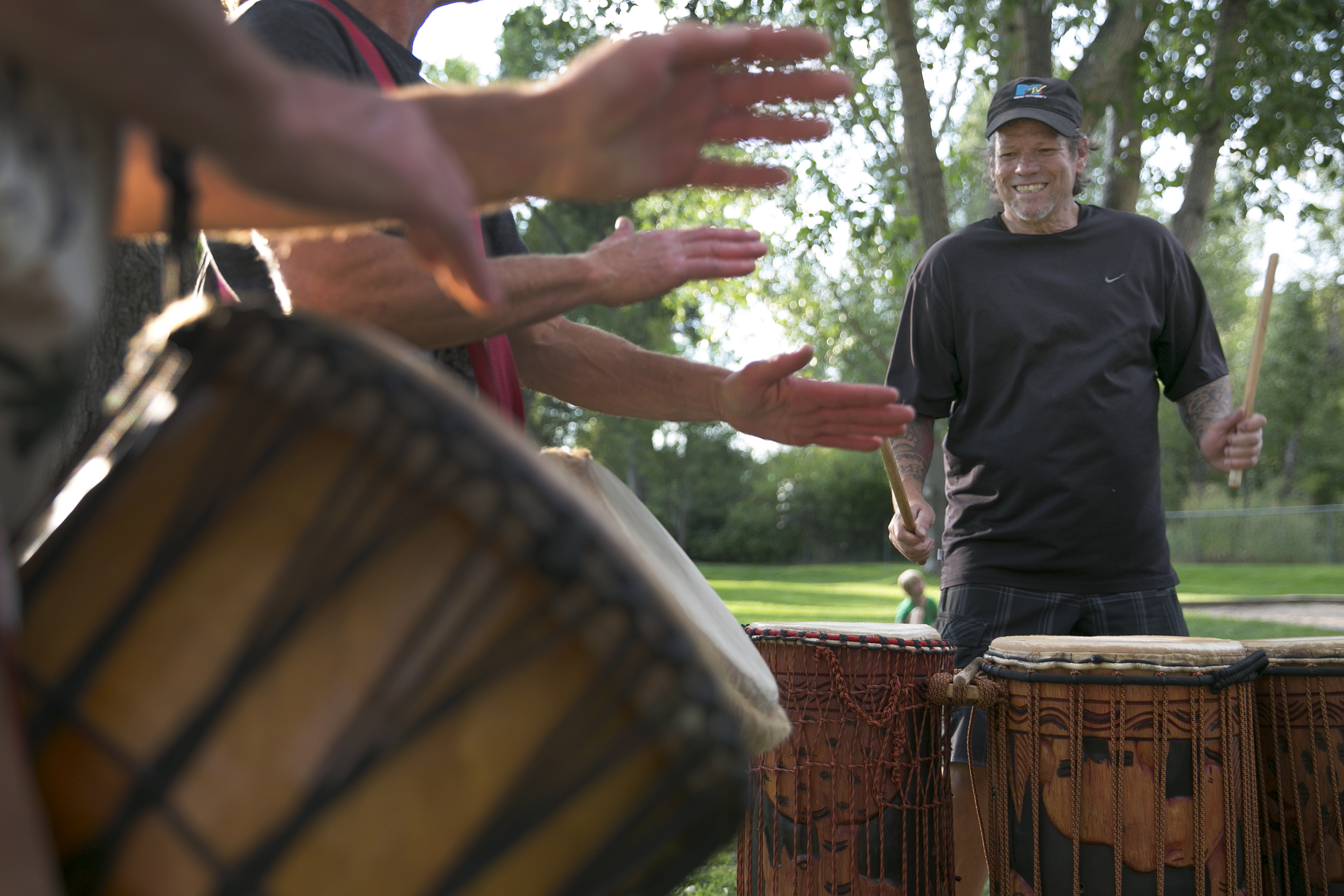 Steamboat Drummers