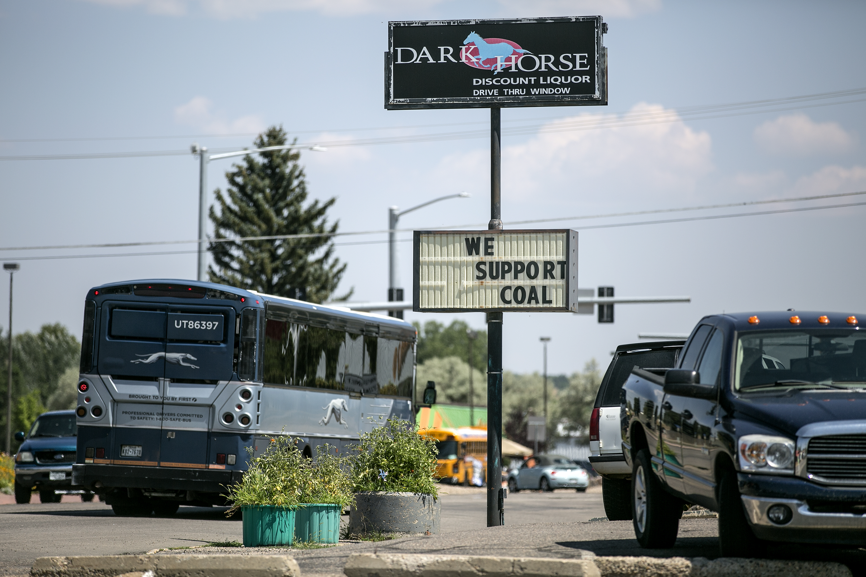 Photo: We Support Coal Sign In Craig | HV