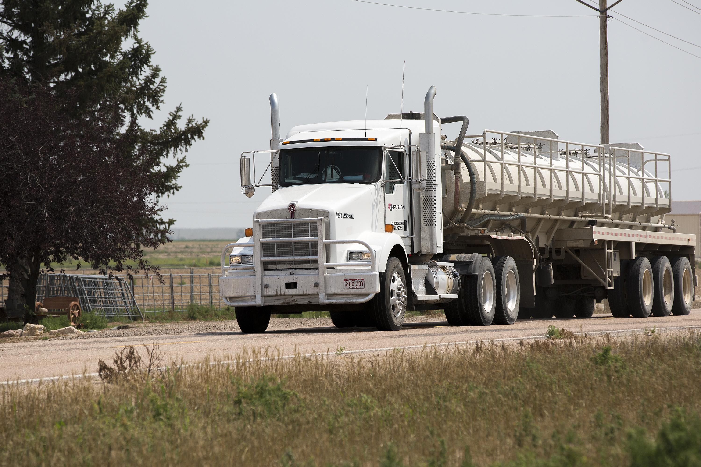 Fracking Fluid Truck