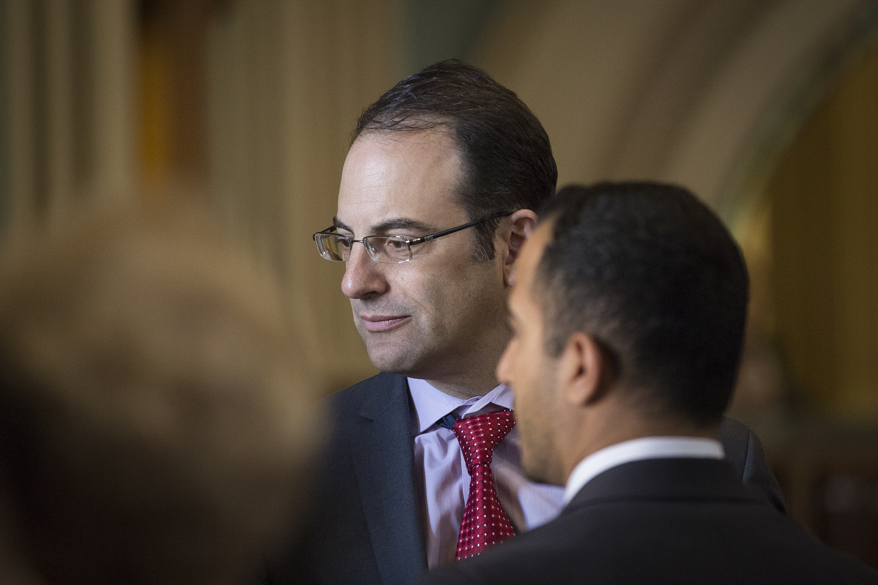 Colorado Attorney General Phil Weiser was among recently elected statewide office holders on hand to hear Gov. Jared Polis's first State of the State address on Thursday Jan. 10, 2019.