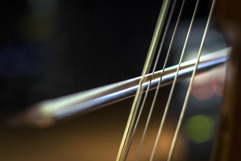 Photo: Closeup shot of string instrument
