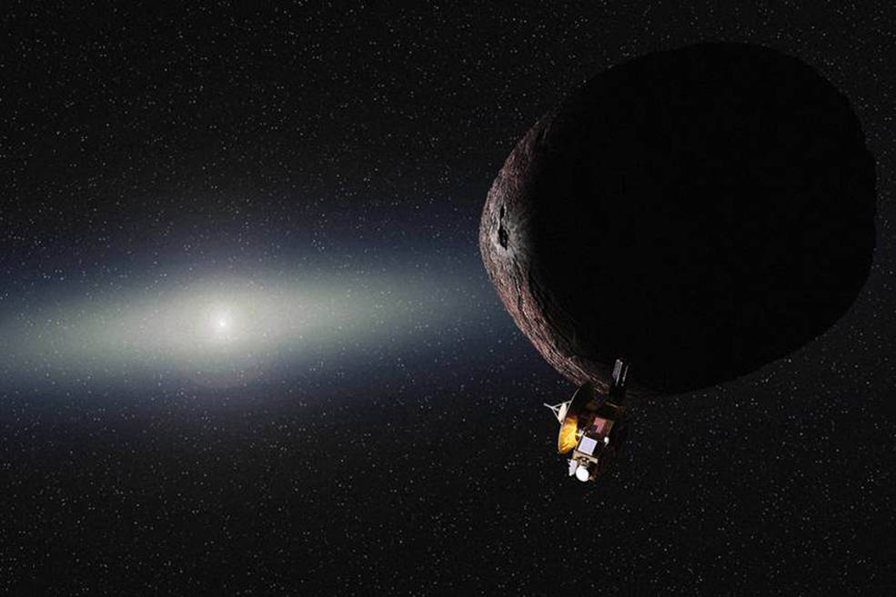 Photo:New Horizons and Next Target